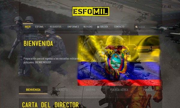 páginas web quito ecuador